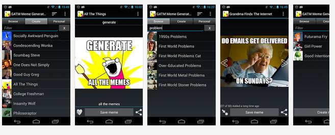 Aplikasi membuat meme