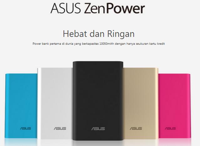 powerbank ASUS ZenPower