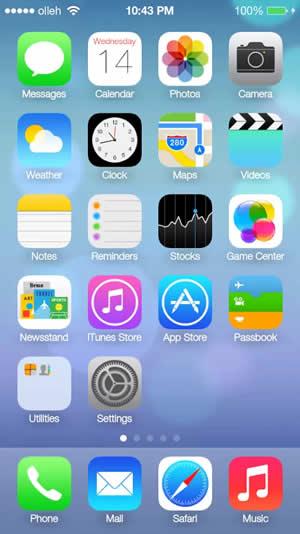 iOS8 Launcher