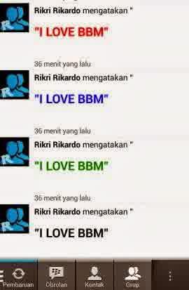 status BBM