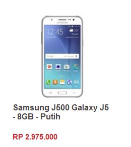 Samsung Galaxy J5 harga