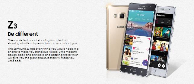 Samsung Z3 ponsel
