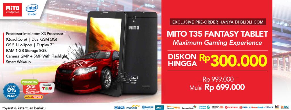MITO T35 Fantasy Tablet new