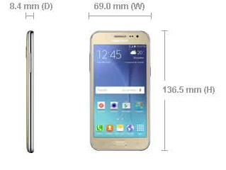 Samsung Galaxy J2 new