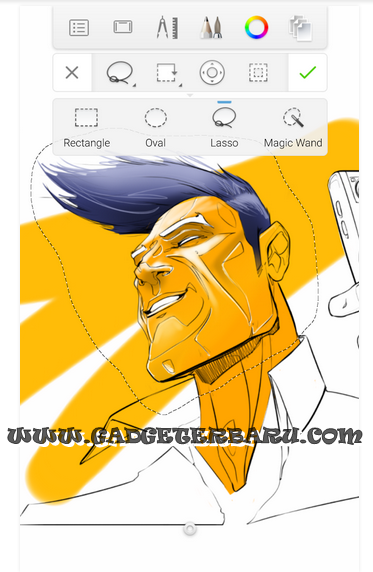 applikasi melukis
