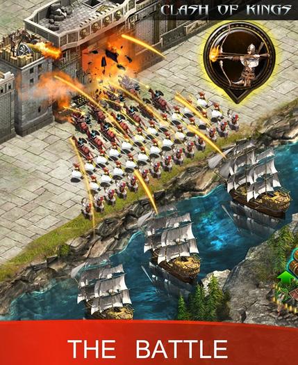game perang Clash of Kings
