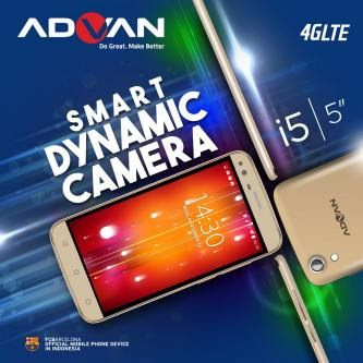 4G Ponsel Advan i5