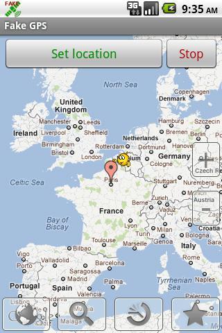 Fake GPS location aplikasi