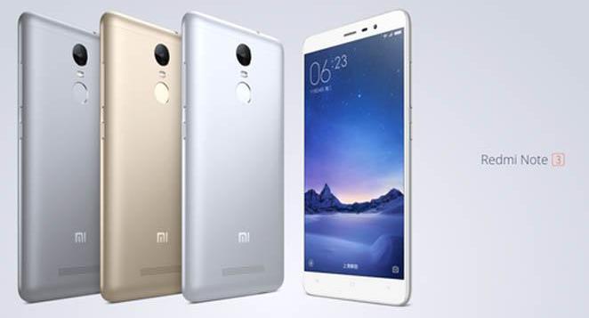 Xiaomi Redmi Note 3 harga