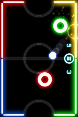 game Glow Hockey