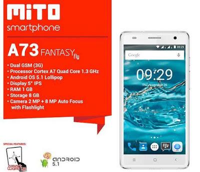 harga Mito A73 Fantasy Fly