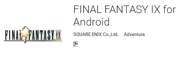 Final Fantasy 9 game android