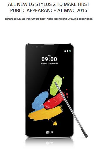 LG Stylus 2 di perkenalkan