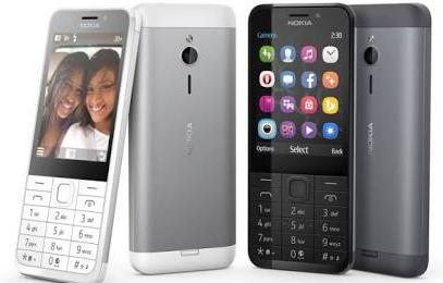 Nokia 222 dan 230