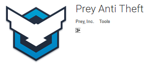 Prey Anti Theft