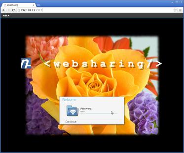 Aplikasi WebSharing