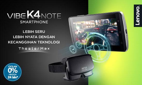 Harga Lenovo Vibe K4 Note