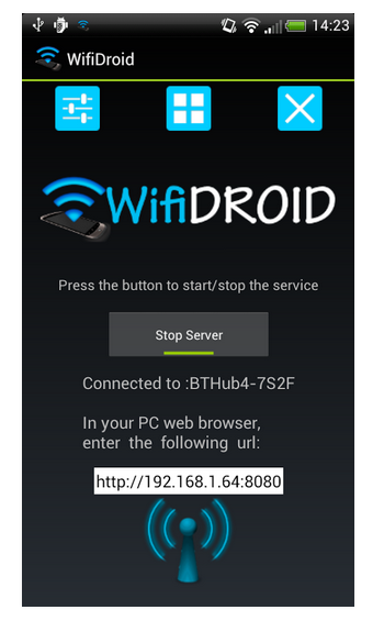 WifiDroid – Wifi File Transfer