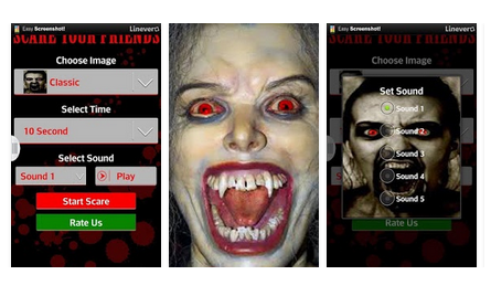 aplikasi Scare your Friends