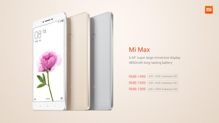 Xiaomi Mi Max harga