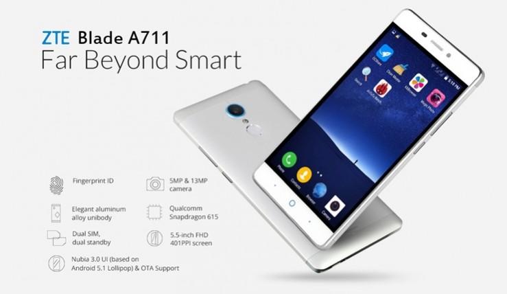 ZTE Blade A711