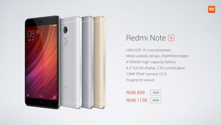 Xiaomi Redmi Note 4 Hp Android Spek Kelas Menengah Harga