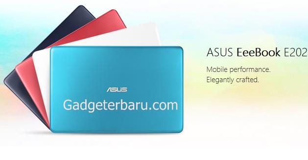 Notebook Asus E202 November 2016