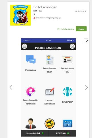 aplikasi soto lamongan