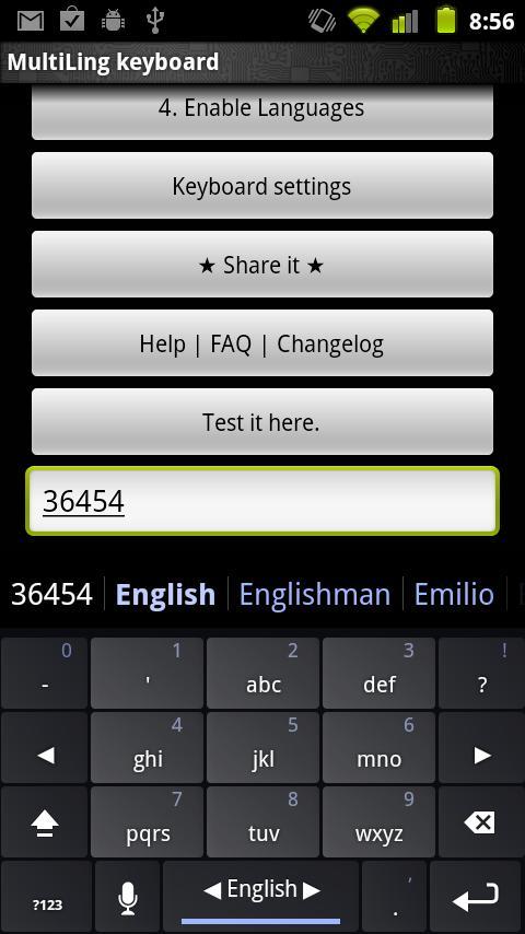 Multiling Keyboard b
