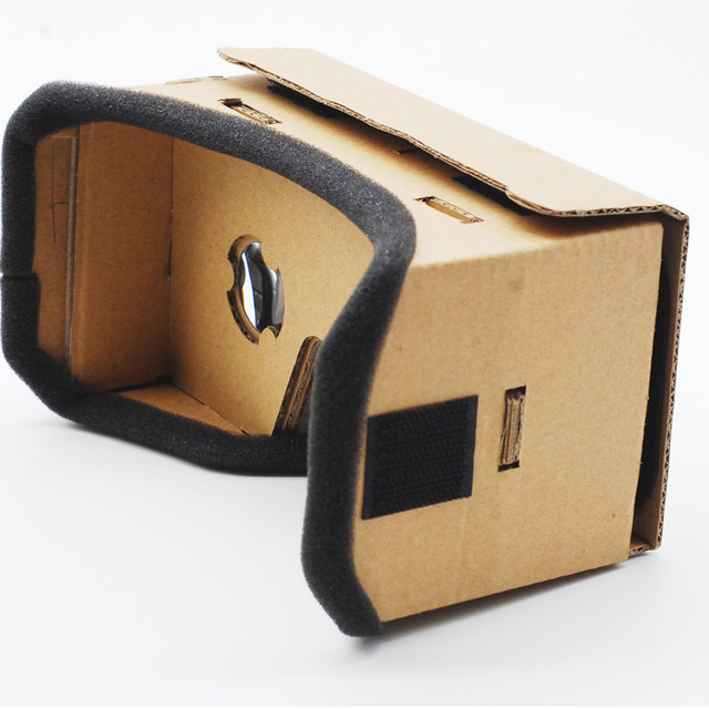 Private VR DIY Cardboard Box Virtual Reality Glasses harga