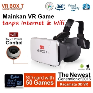 Vander 2.0 VR Box 3D Virtual Reality Glasses