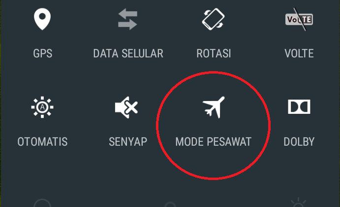Pesawat mode
